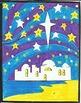 Religious Christmas Color By Number Bundle, Wisemen, Bethlehem, Bells, Angles