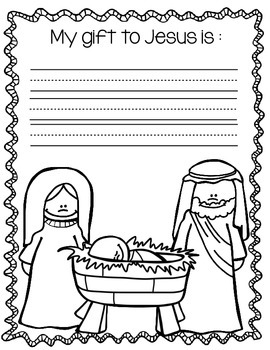 Religious Christmas Packet