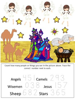 Religious Christmas Toddler and Preschool Pack