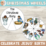 Religious Christmas Wheel Activity for Kindergarten