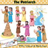 The Patriarch Religious Clip art