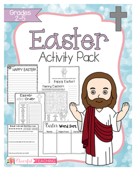 Religious Easter Activity Pack