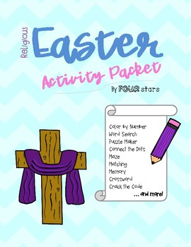 Religious Easter Activity Packet