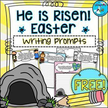 Religious Easter Writing Prompts - Resurrection of Jesus