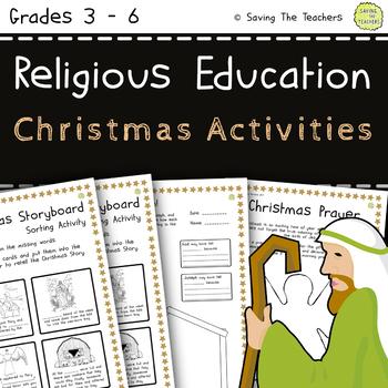 Religious Education Christmas Activities