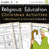 Religious Education: Christmas Activity and Puzzles Bundle