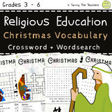 Religious Education Christmas Vocabulary Puzzles
