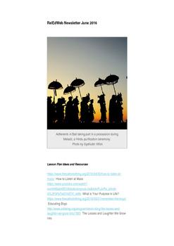 Religious Education Newsletter (June 2016)