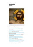Religious Education Newsletter (March 2016)