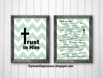 Emergency Bible Numbers Bible Verses Printable Posters Christian Classroom Decor