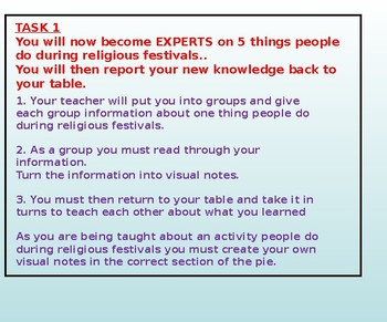 Religious Festivals: Introduction