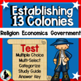 Religious Freedom Movement 13 Colonies Reasons for Establi