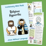 Religious Hypocrites Kidmin Lesson & Bible Crafts