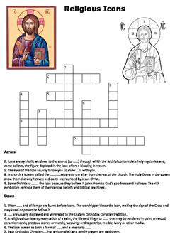Religious Icons Crossword