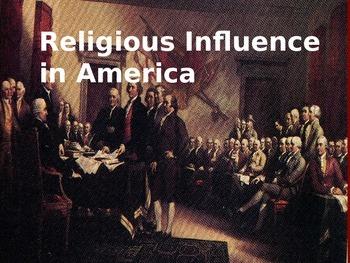 Religious Influence in America