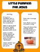 Religious Lesson- Little Pumpkins