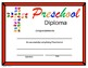 Religious Preschool Diploma - Cross Hands Theme - Editable