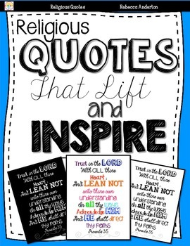 Religious Quotes to Lift and Inspire- Subway Art
