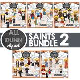 Religious Saints Clip Art BUNDLE 2
