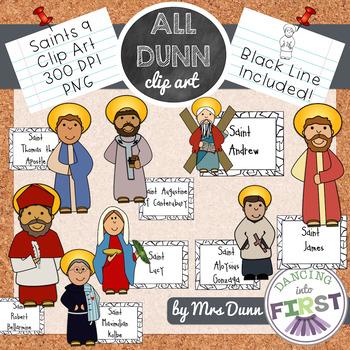 Religious Saints Clip Art Set 9