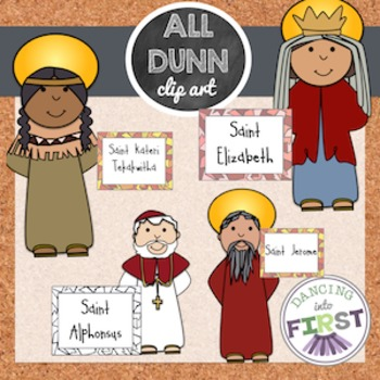 Religious Saints 2 Clip Art