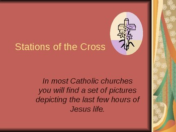 Religious Studies Planning UK Catholic 4th Grade cc Stations of the Cross Holy