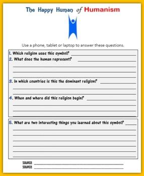 Religious Symbols:  Humanism