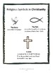 Religious Symbols and Their Meaning- information cards