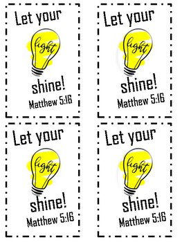 Religious Valentines - Shine your light! Love! - Share with friends!