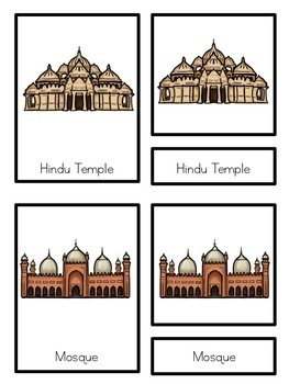 Religious places of worship