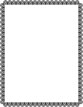Religious themed frames Clip Art Set Commercial and Personal Use