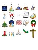 Religious/Christian Christmas Bingo