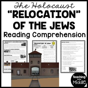 Relocation of the Jews during World War II, Holocaust, Concentration Camps