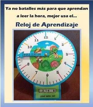 Reloj de Aprendizaje para Niños