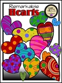 Remarkable Hearts Clipart