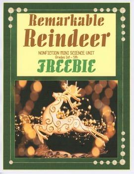 Remarkable Reindeer FREEBIE