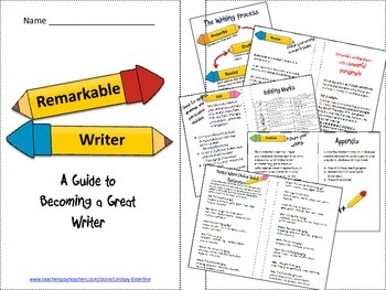 Remarkable Writing Booklet