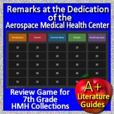 Remarks at the Dedication of the Aerospace Medical Health Center GAME - HMH HRW