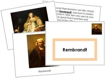 Rembrandt Art Book - Color Border