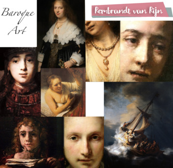 Rembrandt - Baroque Art History - FREE POSTER