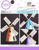 Rembrandt: Shaded Windmills Art Lesson Plan
