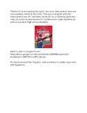 Remedial Geometry Quiz-Slope, Slope-Intercept Form, Point-