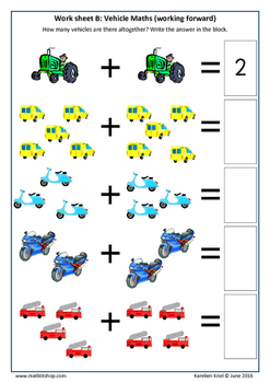 Remedial Mathematics: Addition - 40 work sheets