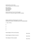 Remedial Plan of Action Form Bilingual