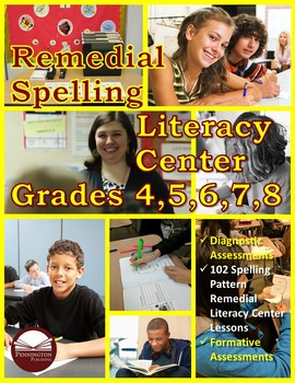 Remedial Spelling Literacy Center