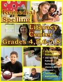 Remedial Spelling Literacy Center