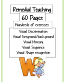 Remedial Teaching - 60 pages full of exercises