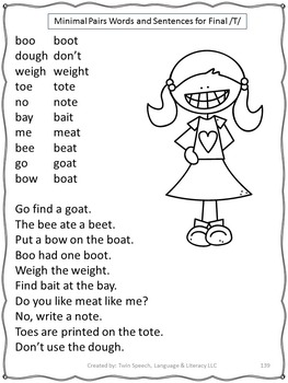 Speech Therapy: Remediation Of Final Consonant Deletions Mega Unit!!
