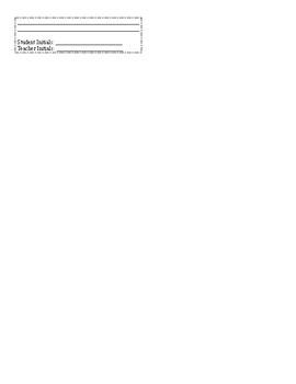 Remediation Sheet