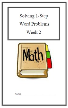 Remediation Weekly Lesson Plan & Practice:Word Problems -1